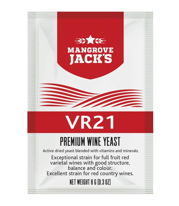 Mangroves Jack's VR21 Wine Yeast