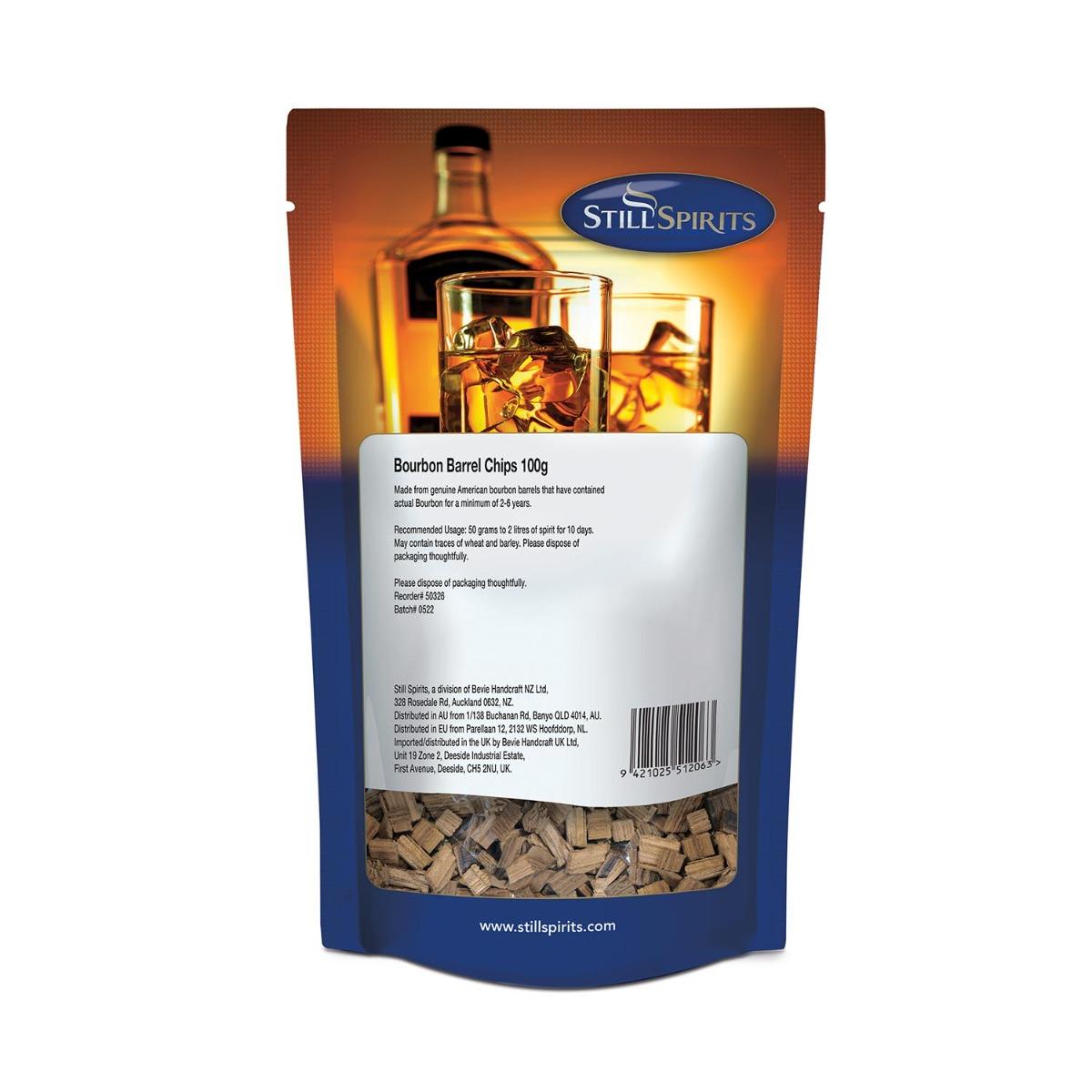 Still Spirits Bourbon Barrel Chips 100g