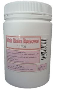 Pink Stain Remover 1kg Jar