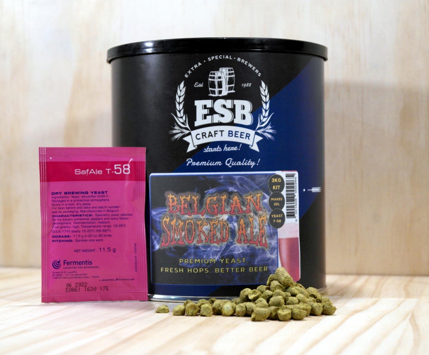 ESB 3kg Belgian Smoked Ale