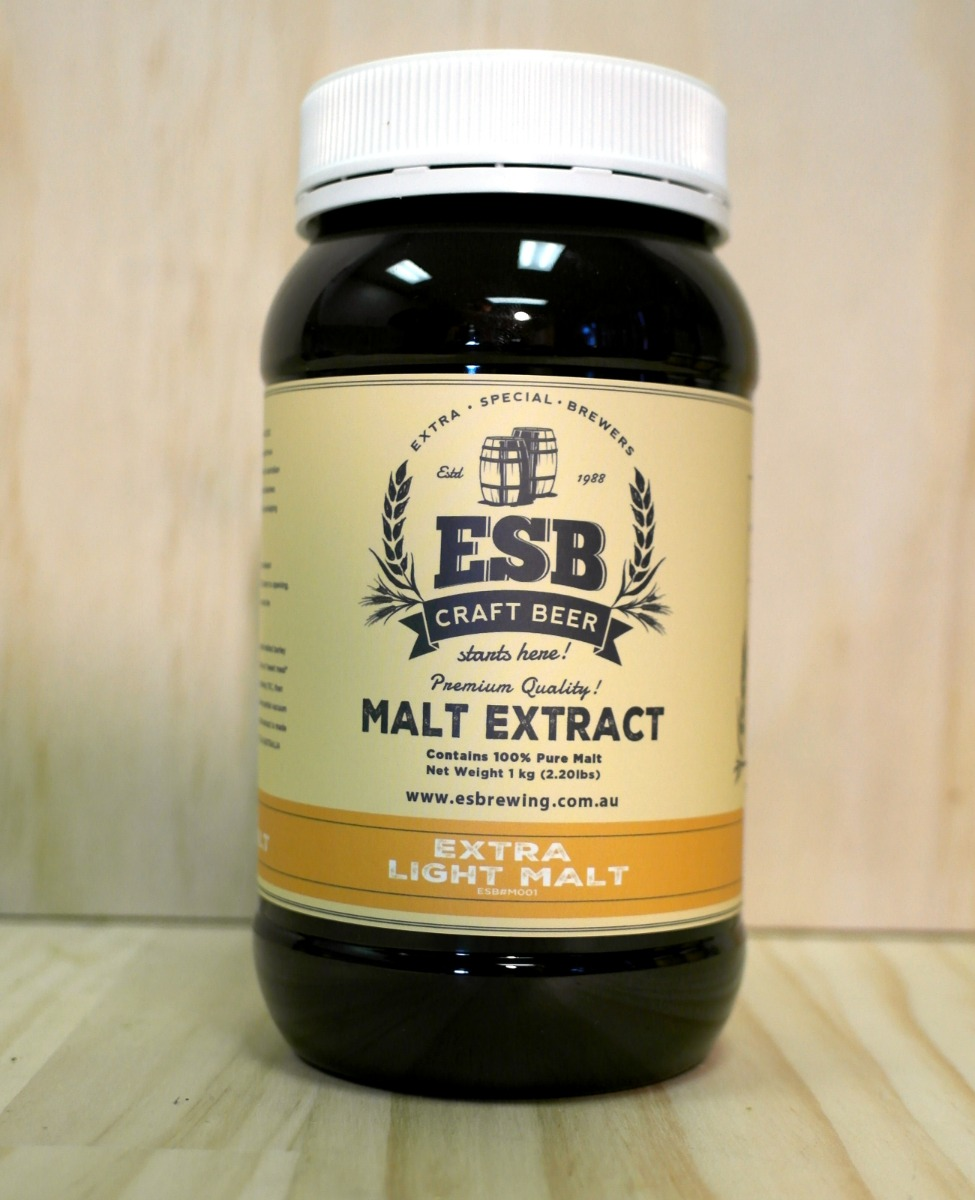 ESB Extra Light Liquid Malt Extract 1kg