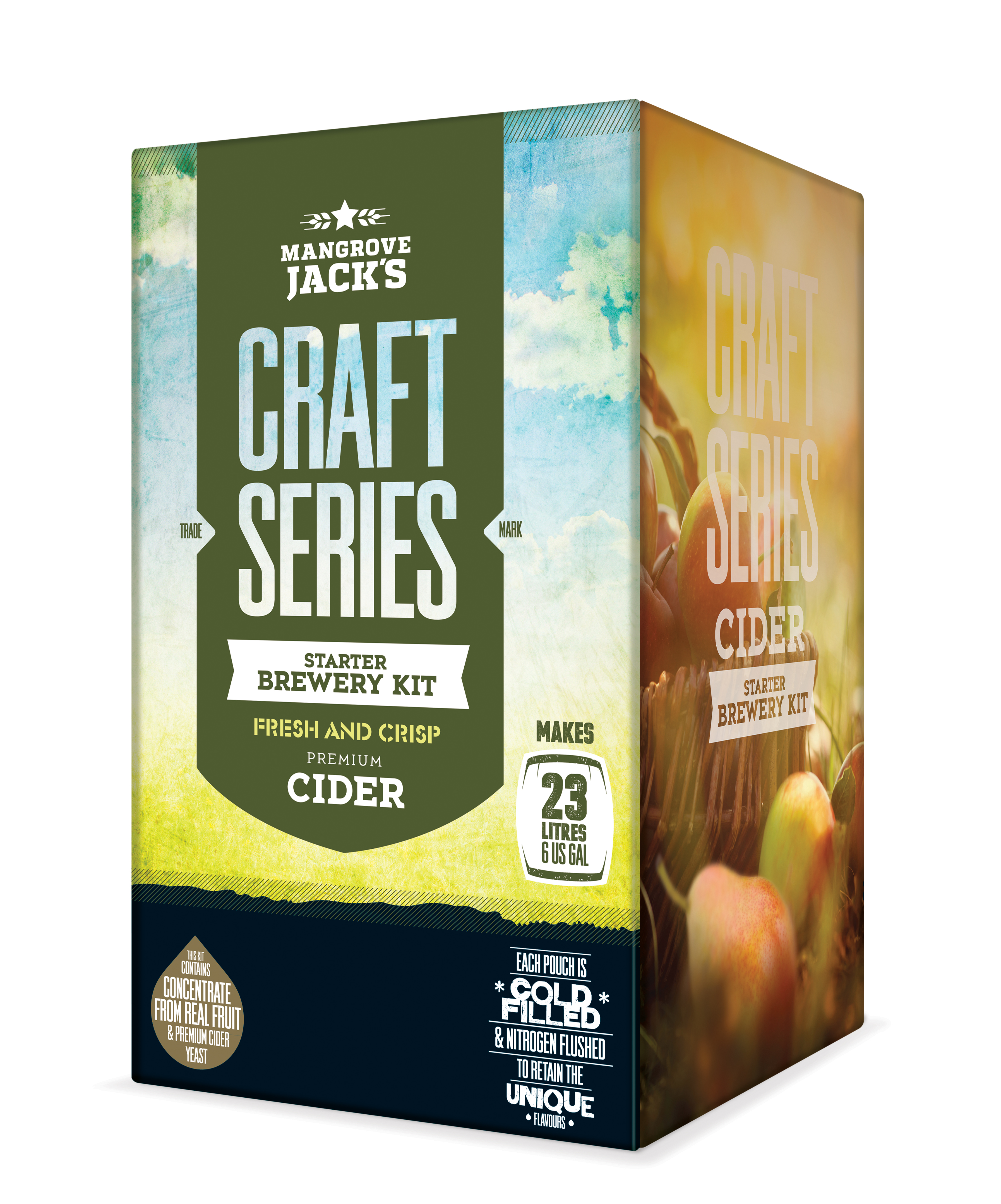 Mangrove Jack's Craft Series Apple Cider Starter Brewery Kit