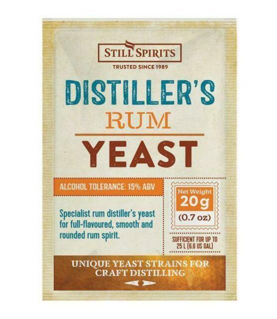 Distiller's Rum Yeast