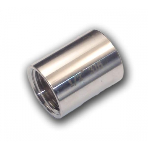 """Stainless Socket with internal 1/2"""" BSP thread"""