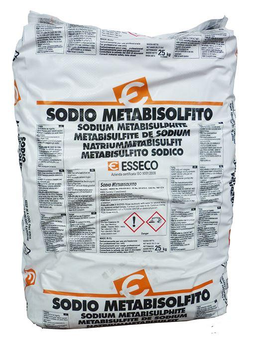 Sodium Metabisulphite 25kg