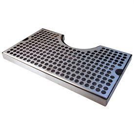 Drip Tray Stainless Steel Wrap Around