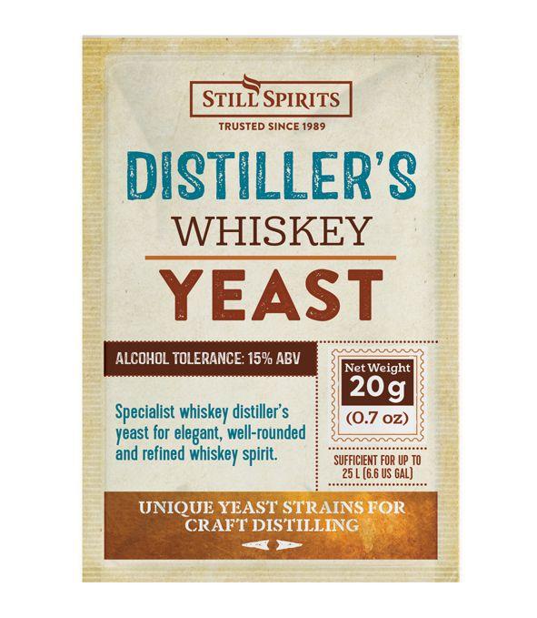 SS Distiller's Yeast Whiskey 20g