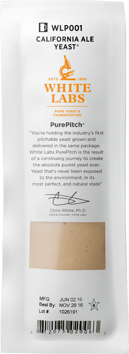 White Labs WLP410 Belgian Wit II Ale Yeast